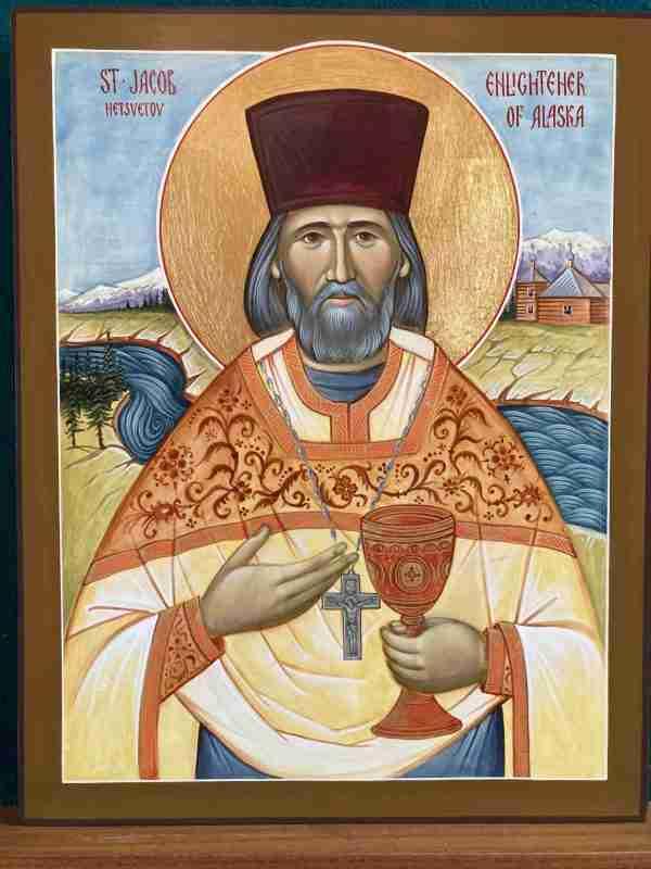 St. Jacob of Alaska Icon