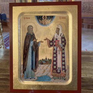 St. Tikhon and St. Herman icons